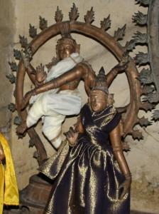 Shiva Nataraja dancing His Cosmic Dance.