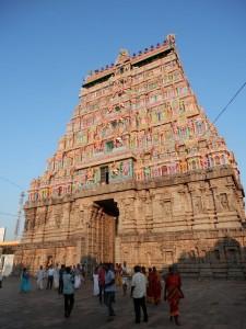 East Gopuram from the prakaram