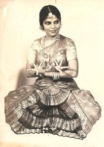 Smt.Rajamani Knol (Bangalore, Bombay, Amsterdam. My Bharata Natyam guru