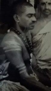 Shri Naganatha Deekshithar of the Chidambaram Nataraja temple and the Tillai Kali temple