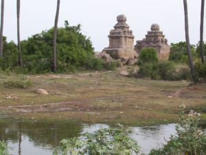 The Pidari Rathas at Mahabalipuram