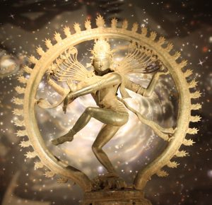 Shri Shiva Nataraja dancing his Ananda Tandava in Chidambaram India