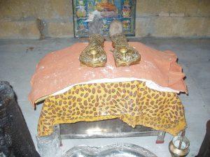 shiva's padukai, yogic chappels