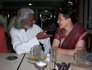 Raja Deekshithar and Liesbeth Pankaja