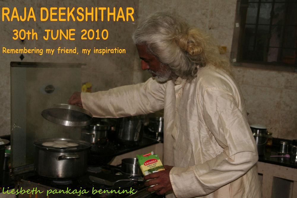 In commemmoration of Raja Deekshithar's sixth annivarsary 30th june 2010-2016