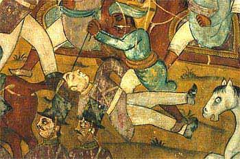 The battle of Perambani 3