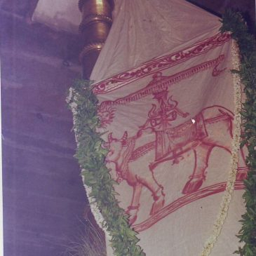 Flaghoisting for Ani Thirumanjanam