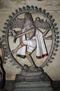 Shiva dancing the cosmic dance, Ananda Tandava