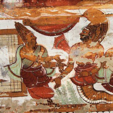 Sages Patanjali and Vyaghrapada and the Chidambaram Nataraja Temple