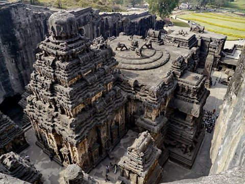 Was sacred dance part of the Kailasha temple tradition?