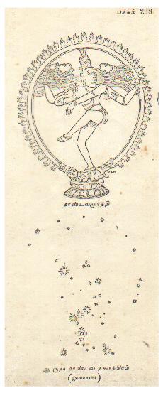 The Orion Correlation in Chidambaram: Nataraja dancing in the night sky