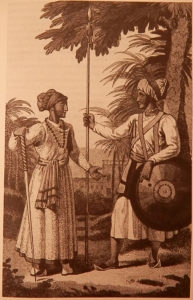 Servants or peons in the Mysorean army