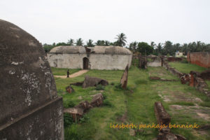 Ruins of the Dutch fort at Sadras