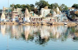 One of the sacred bathing places in Ujjain, the Ram Ghat