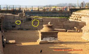 Mahabalipuram Shore Temple megalithic wall