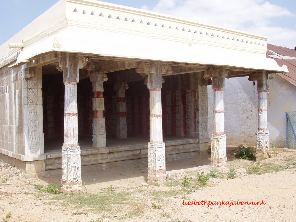 Eclipse pavilion on the Chengalpattu-Kanchipuram road, near Thangi