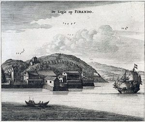 Dutch trading post in Firado/Hirado, Japan, 17th century