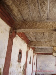 Eclipse pavilion of the Palur Shri Pathangeesvara temple, north bank Palar river, Kanchipuram district, Chengalpattu Kanchipuram road