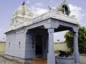 Thangi eclipse pavilion, Kanchipuram District, Chintamani Vinayaka/Sarasvati Temple