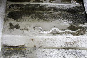 Kudumiyanmalai, Shri Shikanatha: prakara ceiling, mandapa ceiling, pillars, cobra with disc with a deer