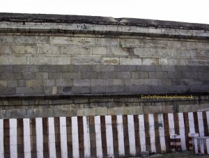 Thiruvalangadu Vadaranjeshvara: inside of outer prakara wall