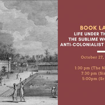 Book launch: Jacob Haafner, Life under the Palms